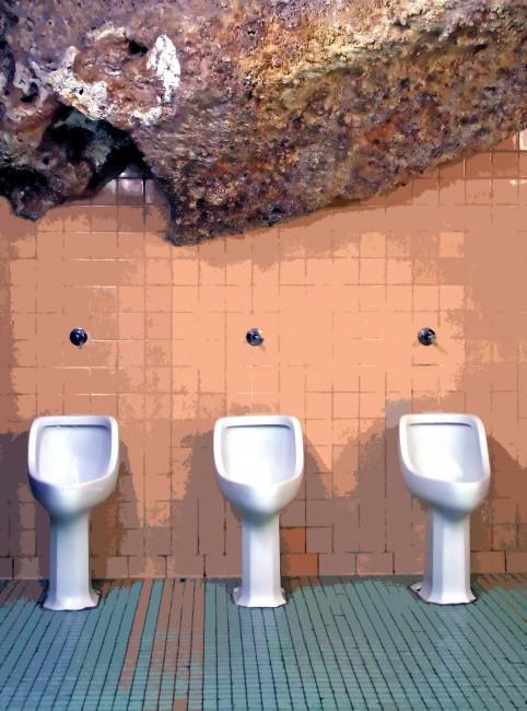 Cave Toilets