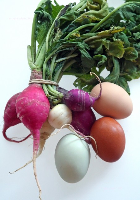 Radishes and Eggs